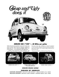 Subaru Historical Advertising