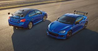LIMITED EDITION WRX STI Type RA and BRZ tS
