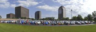 Largest Parade of Subaru Cars