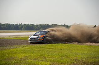 2015 WRX STI Rallycross Car Testing