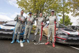 2017 Olympus Rally Podium