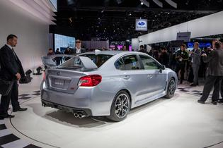 2015 Subaru WRX STI in Detroit