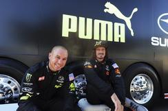 2012 Subaru PUMA Rallycross Team at Las Vegas Motor Speedway