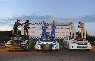 David Higgins and Subaru Rally Team USA Win the 2013 Rally America National Championship