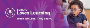 2018 SUBARU LOVES LEARNING