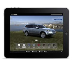 2013 Subaru Forester Dynamic Brochure and iPad App