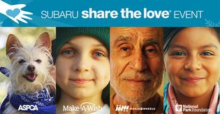 2018 Subaru Share the Love Event