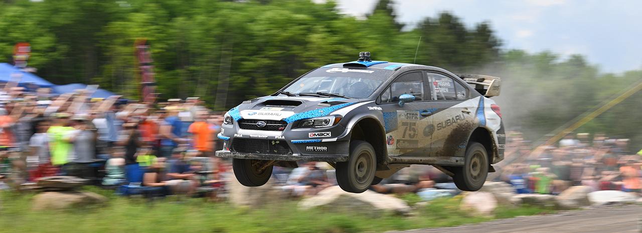 Subaru Driver David Higgins Earns Third Straight STPR Victory