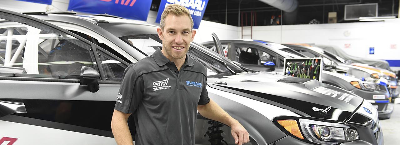 Former Subaru World Rally Team Driver Chris Atkinson to Make Red Bull Global Rallycross Debut in Atlantic City