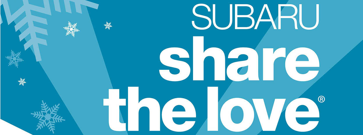 SUBARU SHARE THE LOVE® EVENT RETURNS FOR ITS TENTH ANNIVERSARY IN 2017