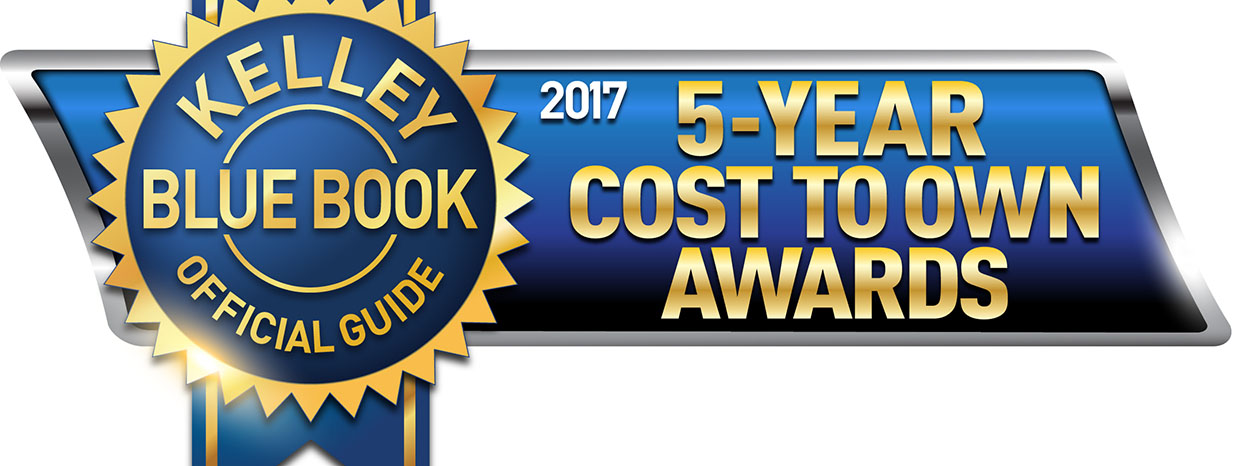SUBARU WINS TOP HONORS FROM KELLEY BLUE BOOK'S 2017 5-YEAR COST TO OWN AWARDS