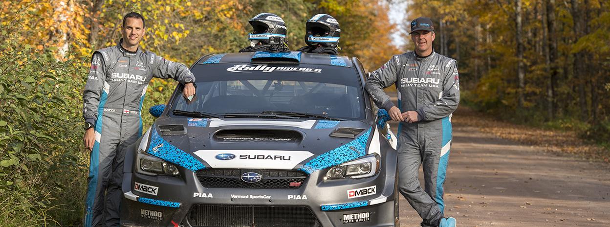 Subaru Closes 2016 Season with 1-2 Finish at Lake Superior Performance Rally