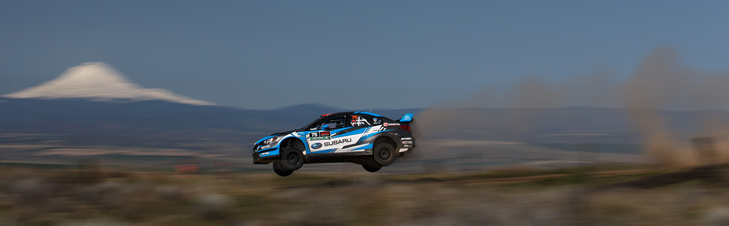 Higgins and Drew Dominate with Seventh Oregon Trail Rally Win in the Past Eight Years