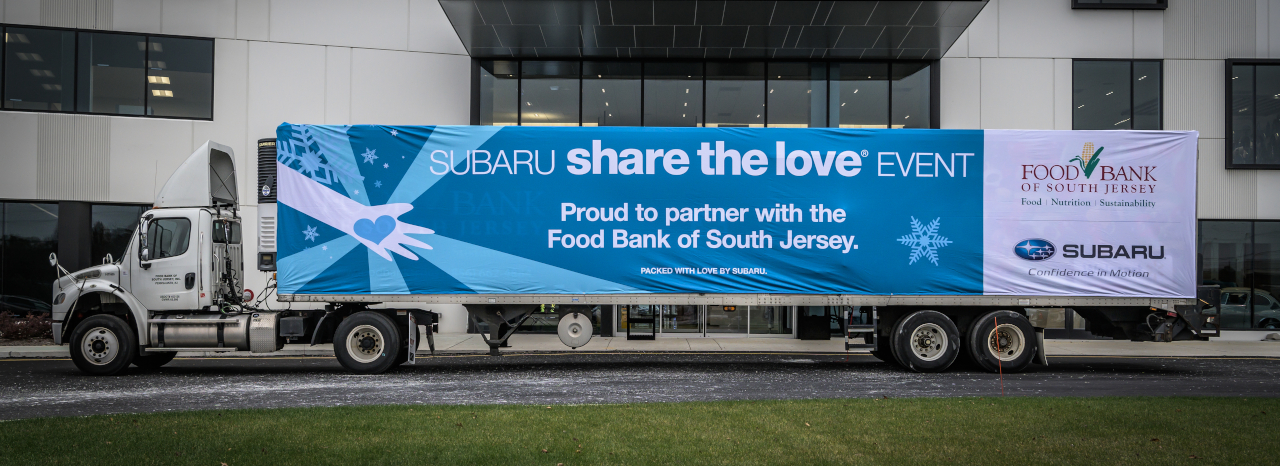 SUBARU OF AMERICA KICKS OFF 2018 SHARE THE LOVE BY HOSTING HQ EVENT TO HELP COMBAT CHILDHOOD HUNGER AND FEED ITS LOCAL COMMUNITIES