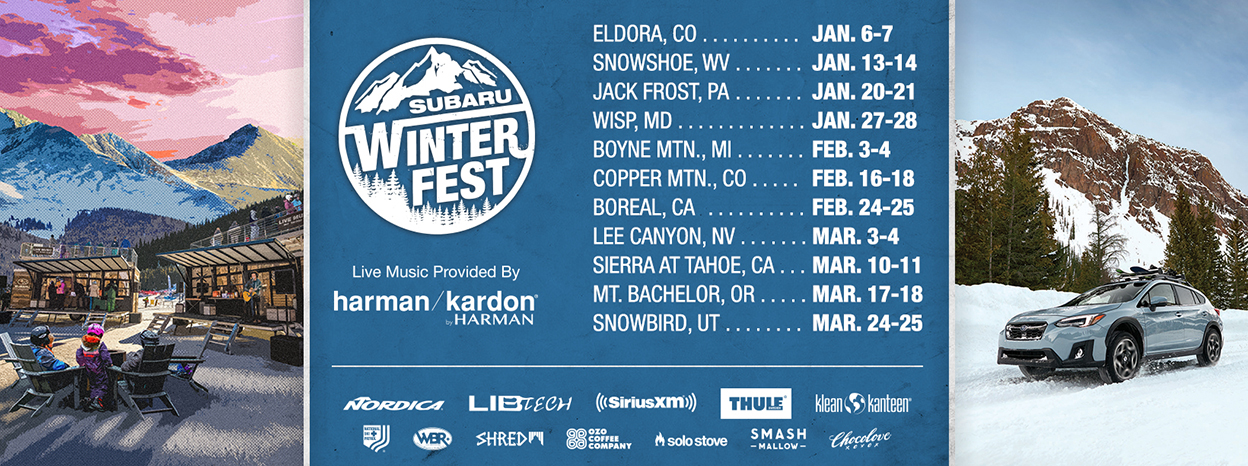 Subaru Encourages Winter Warriors to Seize the Snow Days with the Return of #SubaruWinterFest