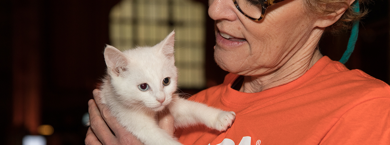 """ASPCA Hosts """"Cat Friday"""" Fee-Waived Adoption Event as Part of the Subaru Share the Love Event"""