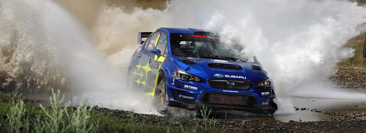 HIGGINS, PASTRANA TOP PODIUM AT OREGON TRAIL RALLY