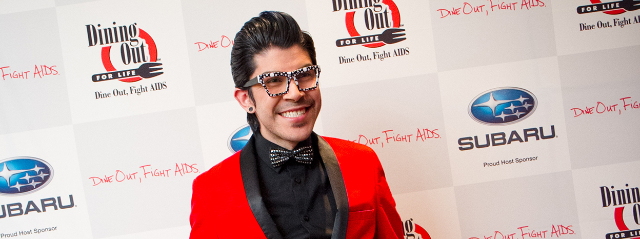 Dining Out For Life To Commemorate World AIDS Day With 360 Degree Video Subaru of America Commissioned HIV+ Artist and AIDS Activist Mondo Guerra To Create Next Generation Pozitivity Designs for Digital Montage