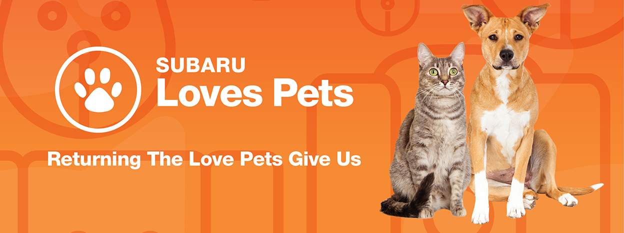 SUBARU OF AMERICA CELEBRATES ITS LOVE OF PETS DURING OCTOBER