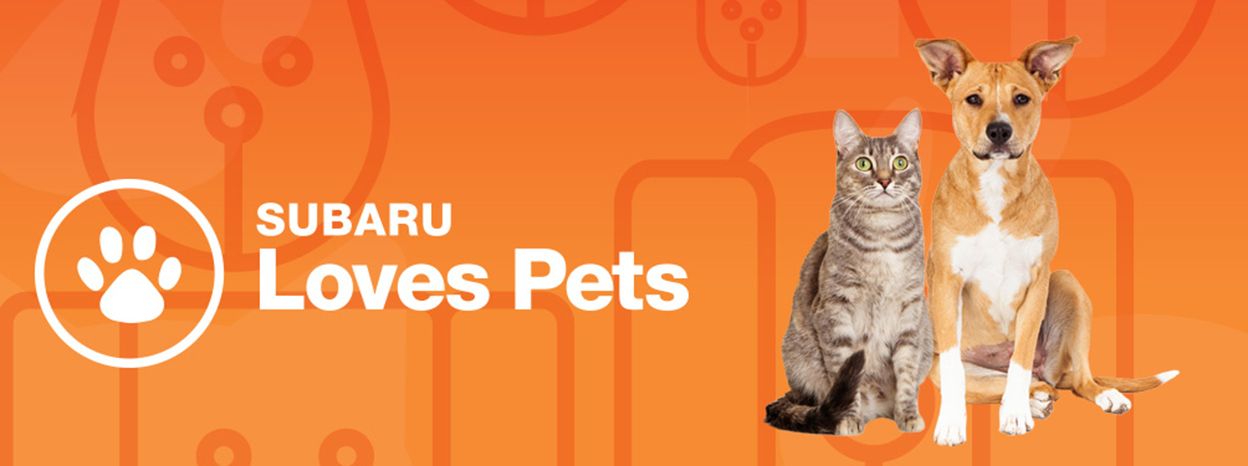 "Subaru of America Aims to Improve Lives of Furry Friends with ""Subaru Loves Pets"" Initiative in October"