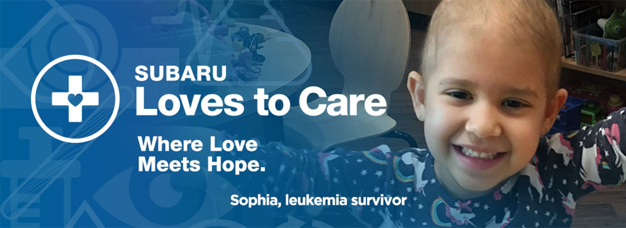 SUBARU AND THE LEUKEMIA & LYMPHOMA SOCIETY (LLS) CONTINUE TO SPREAD HOPE & WARMTH TO CANCER PATIENTS NATIONWIDE