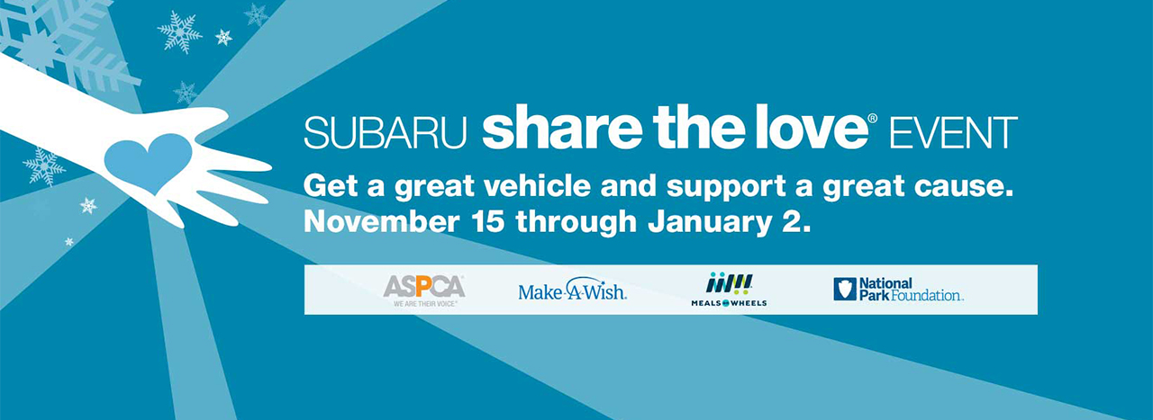 SUBARU KICKS OFF 2018 SHARE THE LOVE® EVENT WITH NEW INSPIRING AD CAMPAIGN