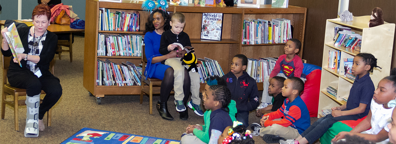 United Way, Subaru unveil new reading oasis at Forest Hill Elementary School in celebration of Read Across America Week