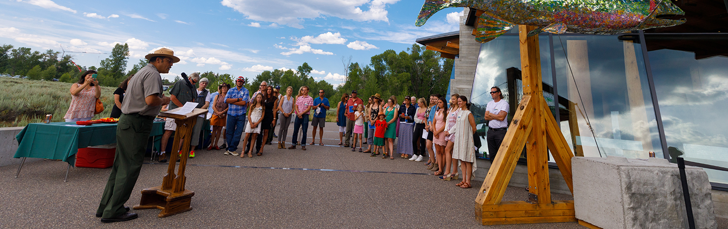 NEW STUDENT ART INSTALLATION ENCOURAGING RECYCLING UNVEILED AT GRAND TETON NATIONAL PARK THANKS TO PARTNERSHIP WITH SUBARU OF AMERICA
