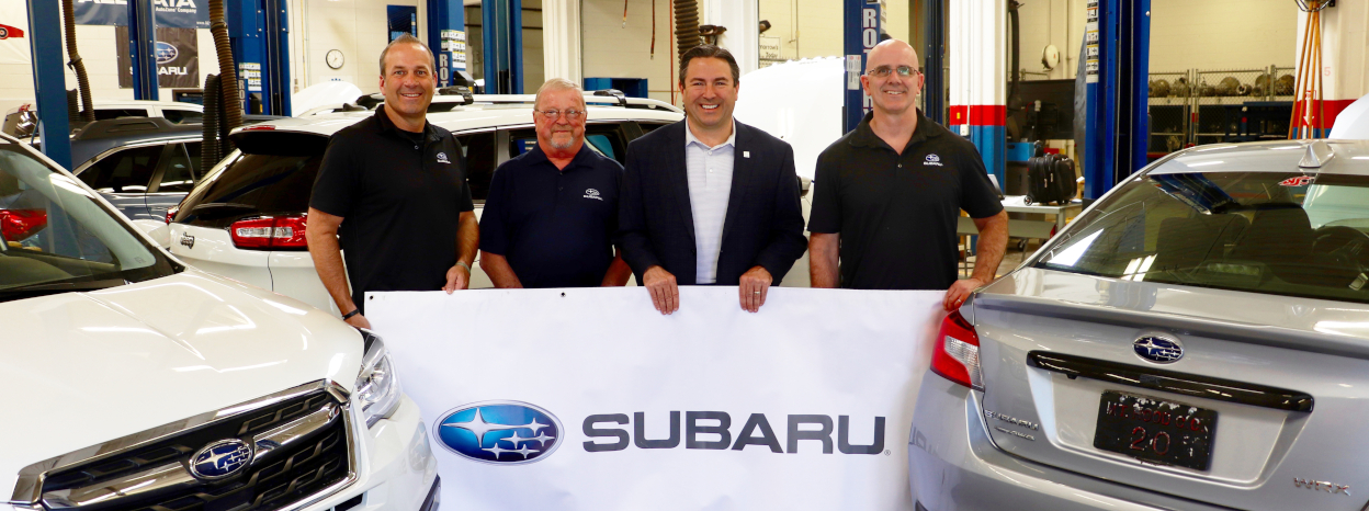 Subaru of America and Mt. Hood Community College Offer Nation's First Degree in Subaru Automotive Technology