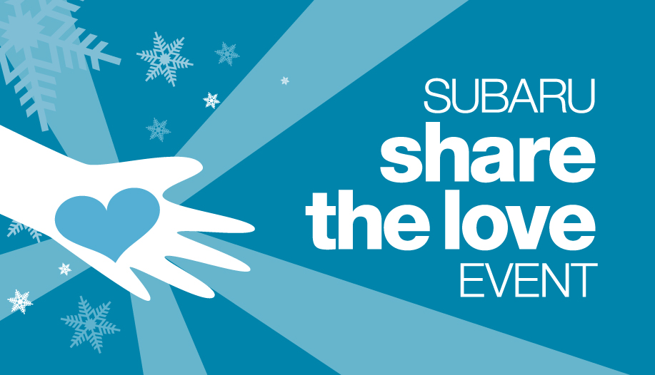 TWELVE YEARS RUNNING: SUBARU SHARE THE LOVE® EVENT PUTS NEW OWNERS IN THE DRIVER'S SEAT