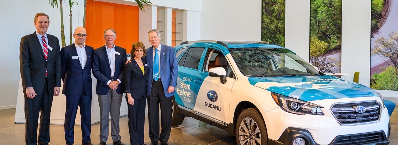 SUBARU OF AMERICA CELEBRATES NATIONAL CHARITY PARTNERS WITH 2018 SUBARU SHARE THE LOVE® EVENT DONATION CEREMONY