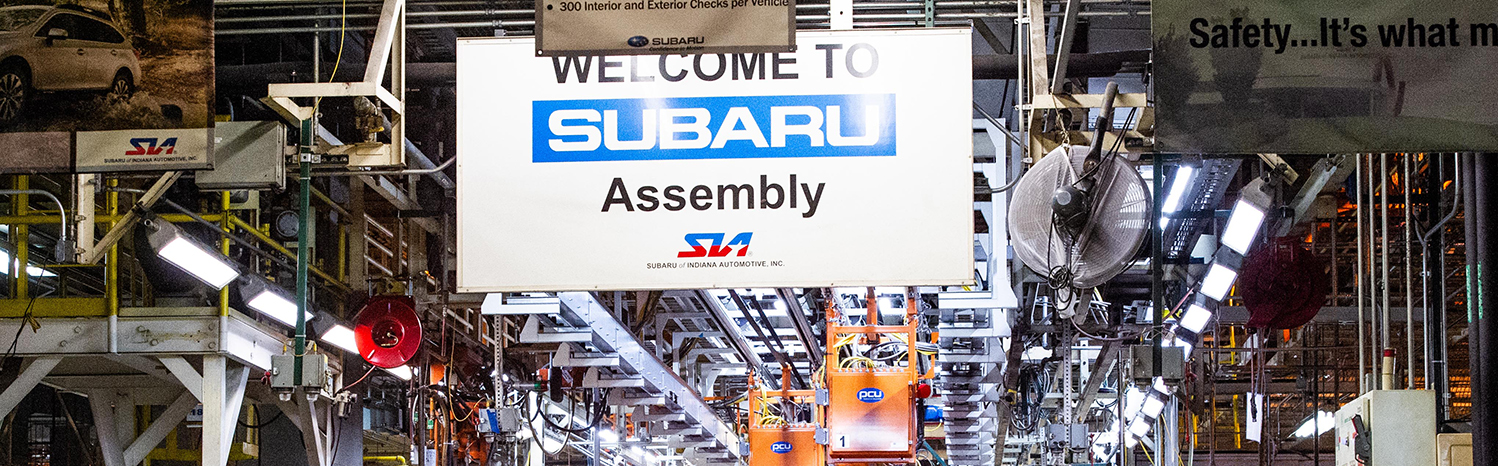 SUBARU ASCENT PRODUCTION BEGINS AT SUBARU OF INDIANA AUTOMOTIVE