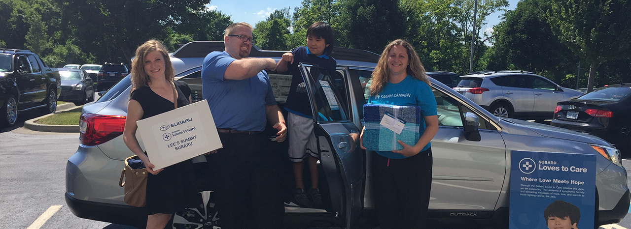 A PROMISE KEPT: SUBARU AND THE LEUKEMIA & LYMPHOMA SOCIETY DELIVER 30,000 GIFTS OF COMFORT AND CARE TO CANCER PATIENTS ACROSS THE COUNTRY