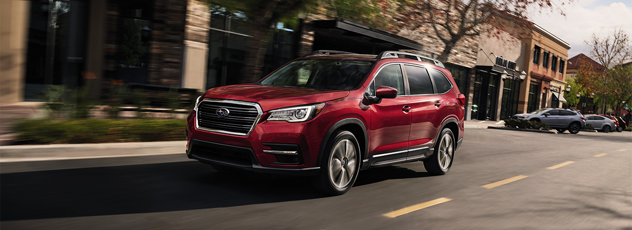 SUBARU ANNOUNCES PRICING ON 2021 ASCENT 3-ROW SUV
